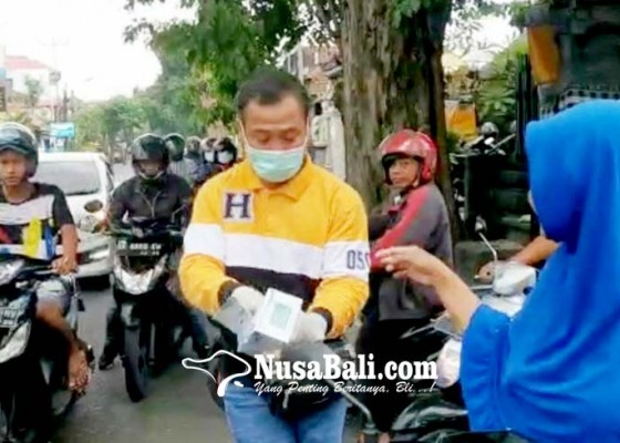 Nusabali.com - ludes-hanura-bagikan-20000-masker-gratis