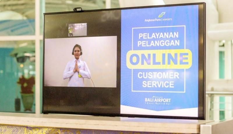 www.nusabali.com-cegah-covid-19-bandara-ngurah-rai-terapkan-online-customer-service