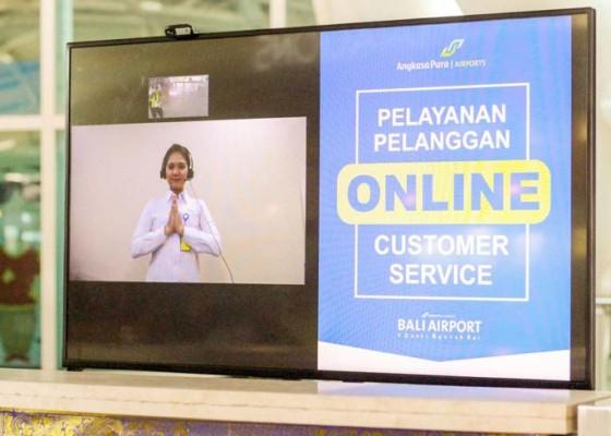 Nusabali.com - cegah-covid-19-bandara-ngurah-rai-terapkan-online-customer-service