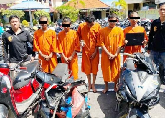 Nusabali.com - lima-abg-kawanan-maling-diringkus