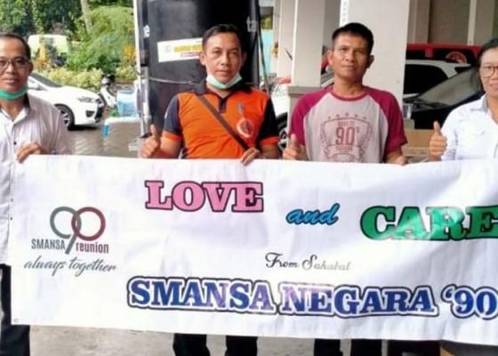 Nusabali.com - peduli-corona-alumni-smansa-negara-90-sumbangkan-4-wastafel-portable