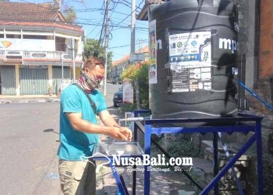 Nusabali.com - pdam-pasang-tempat-cuci-tangan