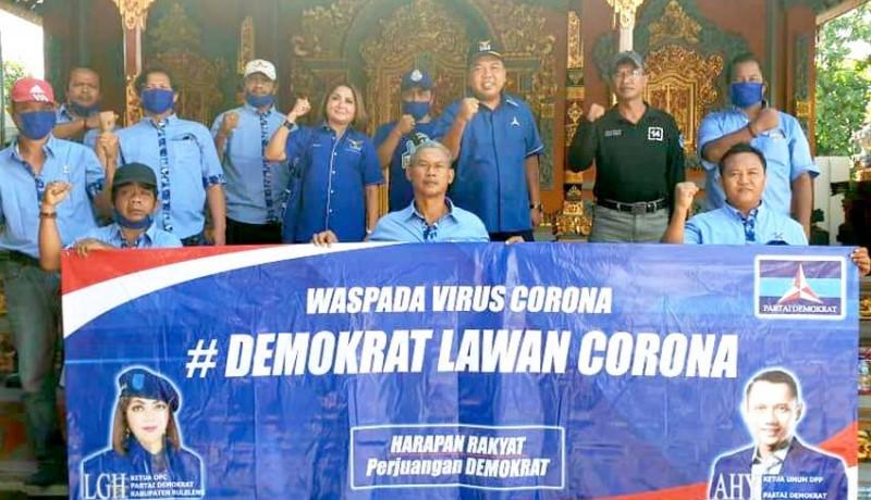 www.nusabali.com-demokrat-buleleng-gotong-royong-bikin-masker