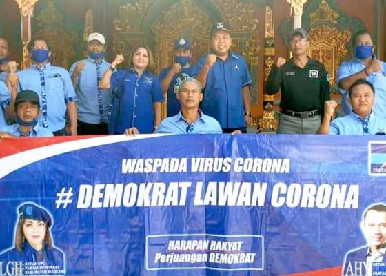 Nusabali.com - demokrat-buleleng-gotong-royong-bikin-masker