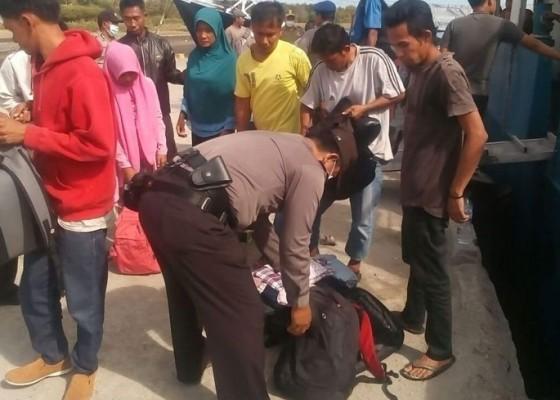 Nusabali.com - antisipasi-arus-kriminal-penumpang-kapal-disweeping
