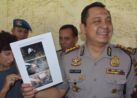 Nusabali.com - polisi-temukan-kta-dan-ktp-aipda-sudarsa