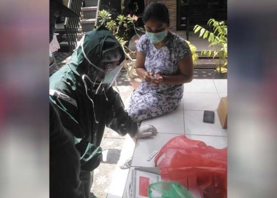 Nusabali.com - sempat-kontak-dengan-pasien-positif-52-orang-jalani-rapid-test-corona