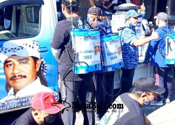 Nusabali.com - gus-cilik-relawan-psr-aksi-penanggulangan-covid-19-di-denpasar