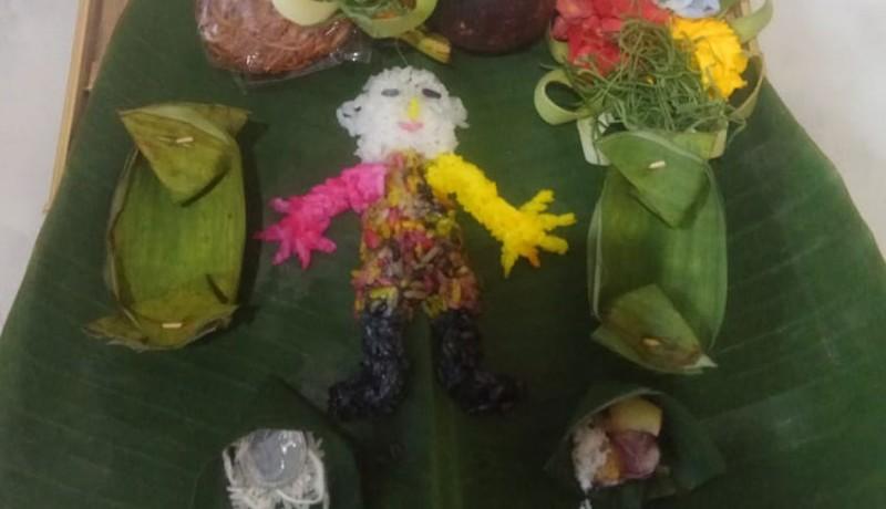 www.nusabali.com-tolak-bala-masyarakat-bali-serentak-haturkan-nasi-wong-wongan
