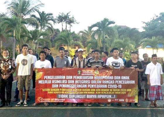 Nusabali.com - cegah-covid-19-29-napi-rutan-negara-dirumahkan
