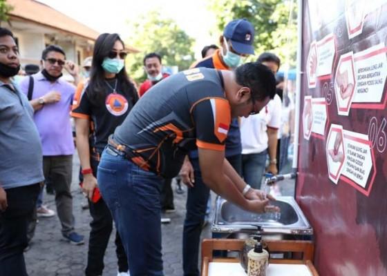 Nusabali.com - pedagang-pembeli-diminta-rajin-cuci-tangan-dan-wajib-masker