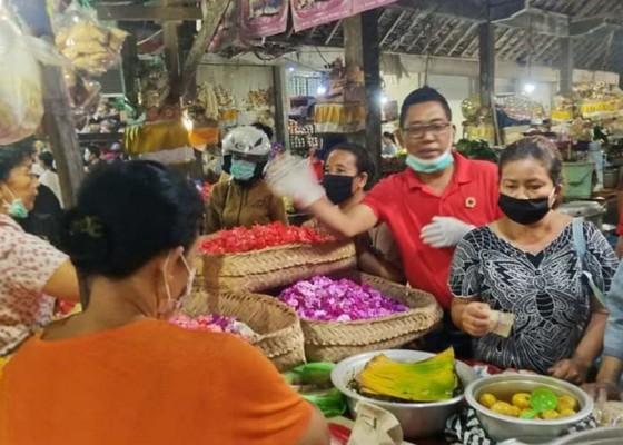 Nusabali.com - sebar-pedagang-pasar-tradisional