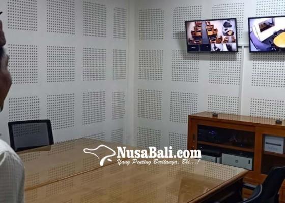 Nusabali.com - pelantikan-teleconference-di-79-titik