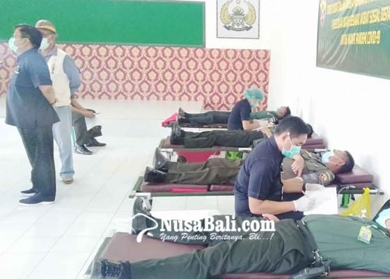 Nusabali.com - kesdam-ixudayana-gelar-donor-darah