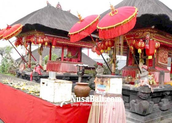 Nusabali.com - pura-ratu-subandar-besakih-sepi-pamedek