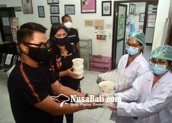 Nusabali.com - kagama-muda-bali-dan-bron-cafe-bentuk-dapur-gizi-untuk-tenaga-medis