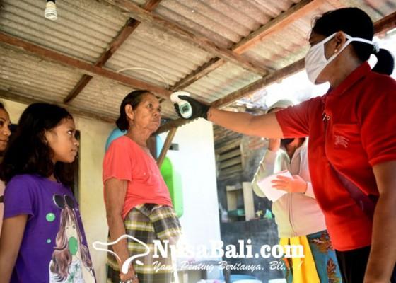 Nusabali.com - waspada-corona-desa-adat-sesetan-lakukan-pengecekan-suhu-tubuh