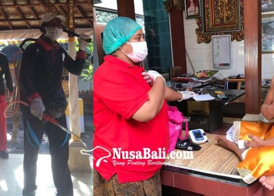 Nusabali.com - jagabaya-mgpssr-lindungi-sulinggih-dari-covid-19