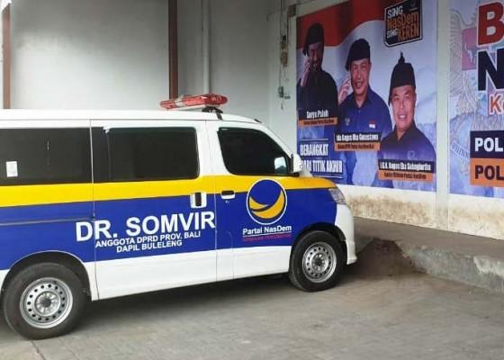 Nusabali.com - dimotori-dr-somvir-nasdem-bali-gelontor-bantuan
