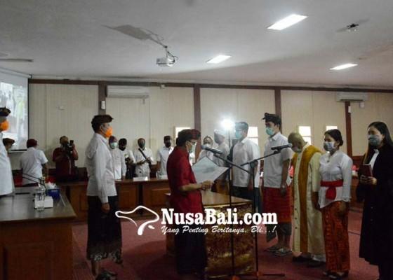 Nusabali.com - 782-cpns-pemprov-bali-dilantik-gubernur-koster-lewat-teleconference