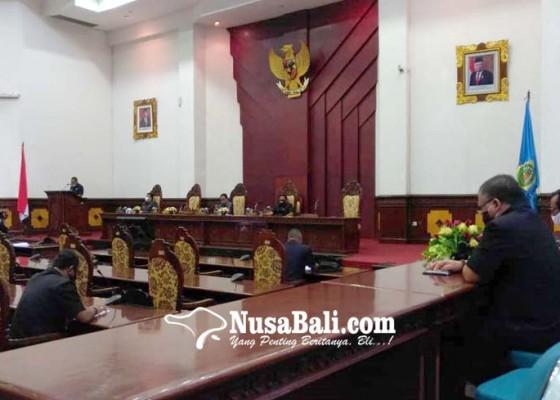 Nusabali.com - pakai-teleconference-sidang-dprd-lengang