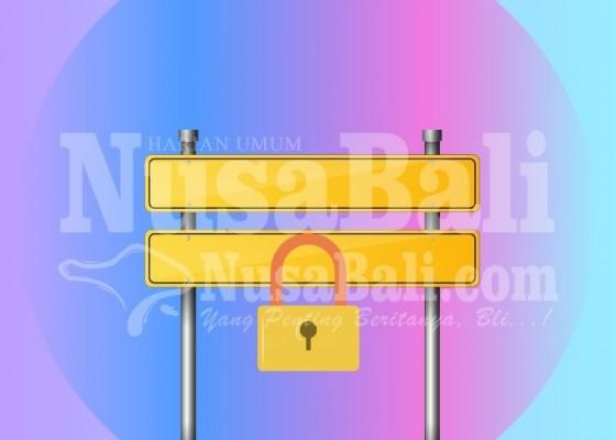 Nusabali.com - dua-akses-masuk-kawasan-itdc-ditutup