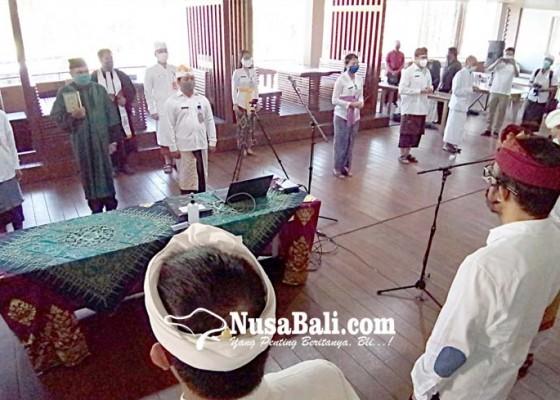 Nusabali.com - 243-cpns-pemkot-dilantik-melalui-teleconference