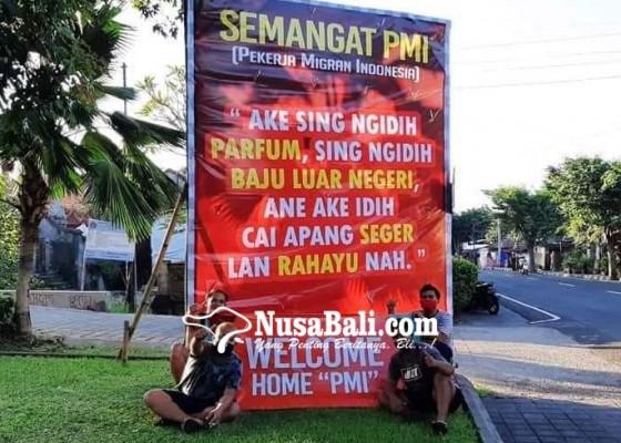 Nusabali.com - berisi-pesan-dukungan-moral-kepada-pekerja-migran
