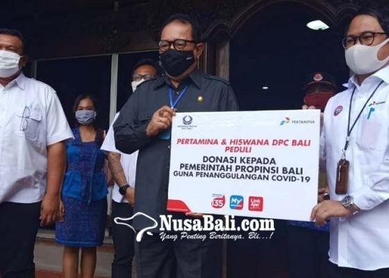 Nusabali.com - bali-dapat-sumbangan-sembako-dari-pertamina