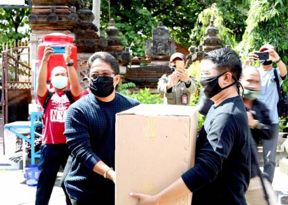 Nusabali.com - badung-bagikan-masker-serentak-untuk-masyarakat