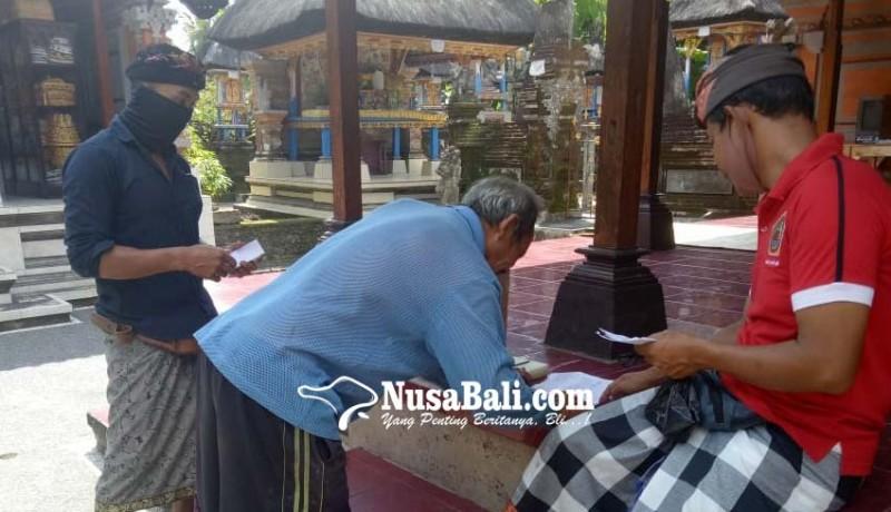 www.nusabali.com-panitia-lakukan-pungut-suara-dari-rumah-ke-rumah