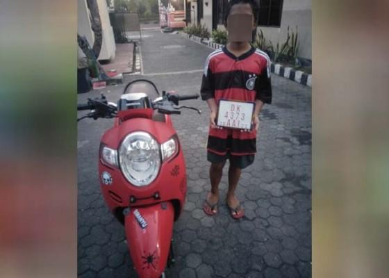 Nusabali.com - curi-motor-pelajar-smp-ditangkap-untuk-kedua-kalinya
