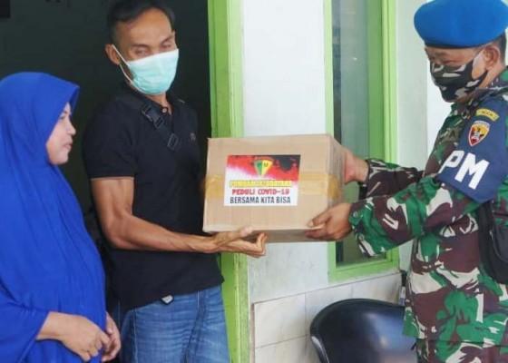 Nusabali.com - pomdam-ixudayana-bagikan-200-paket-sembako