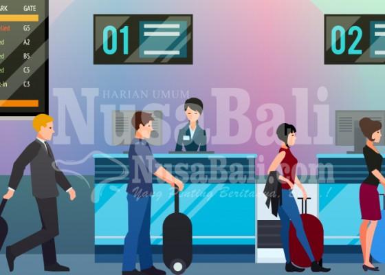 Nusabali.com - bandara-catat-penurunan-terendah