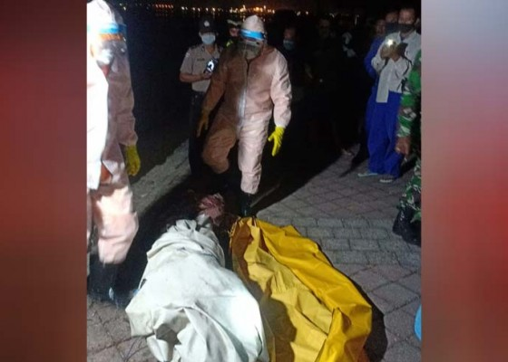 Nusabali.com - pemancing-tewas-terseret-arus-tim-evakuasi-kenakan-apd
