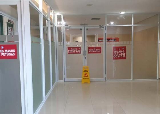 Nusabali.com - siapkan-40-bed-ruang-isolasi-rs-bali-mandara-rawat-satu-pasien-corona