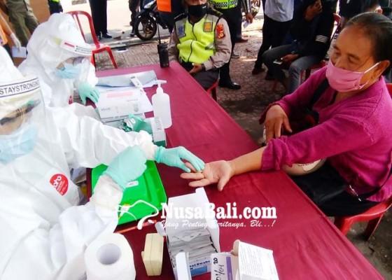 Nusabali.com - persiapan-pkm-warga-yang-masuk-denpasar-jalani-rapid-test