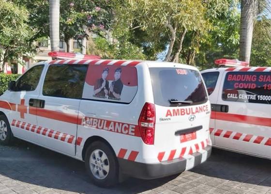 Nusabali.com - badung-siagakan-tiga-mobil-ambulans-tangani-kasus-covid-19