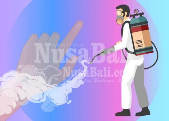 Nusabali.com - kasus-db-meningkat-anggaran-fogging-tersisa-29-kali
