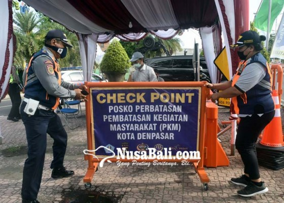 Nusabali.com - masuk-ke-kota-denpasar-dari-zona-merah-langsung-rapid-test