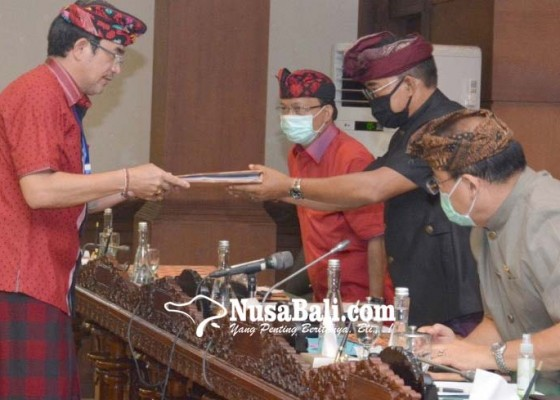Nusabali.com - dprd-bali-sahkan-4-perda-saat-pandemi