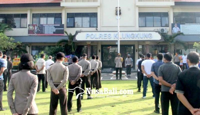 www.nusabali.com-kapolres-klungkung-ajak-personel-berdamai-dengan-corona