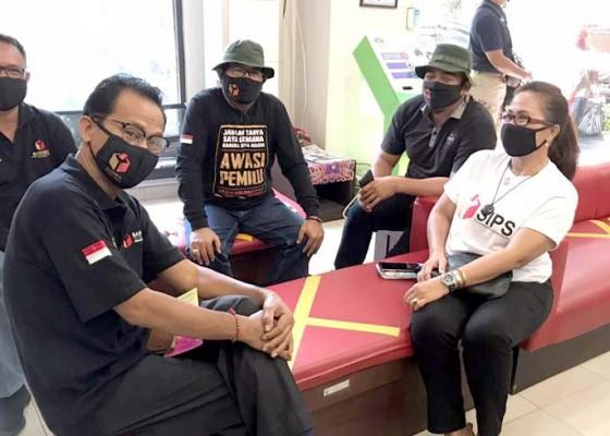 Nusabali.com - komisioner-bawaslu-bali-lakukan-rapid-test-kedua