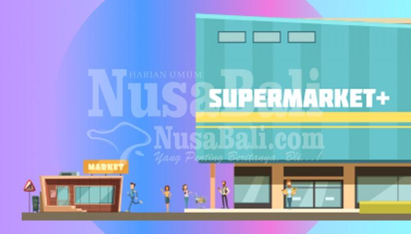 www.nusabali.com-jelang-lebaran-mall-dan-swalayan-tetap-lengang