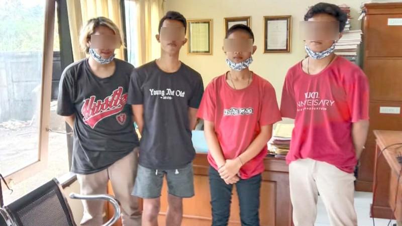www.nusabali.com-bobol-kulkas-warung-empat-remaja-diamankan