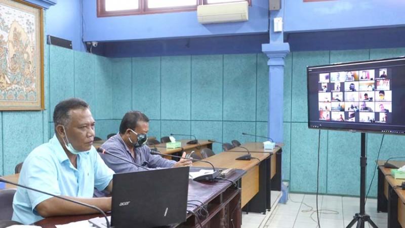 www.nusabali.com-dprd-klungkung-gelar-rapat-pencegahan-wabah-covid-19