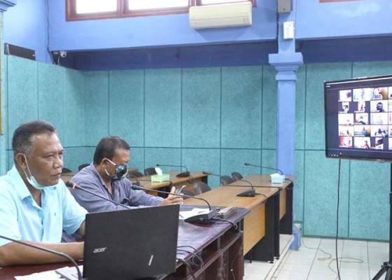 Nusabali.com - dprd-klungkung-gelar-rapat-pencegahan-wabah-covid-19