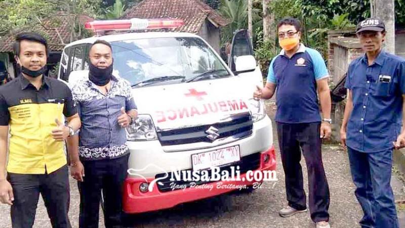 www.nusabali.com-desa-tri-eka-buana-punya-mobil-ambulans