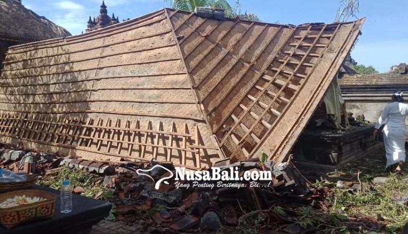 www.nusabali.com-dua-bangunan-suci-hancur-seorang-juru-sapuh-terluka