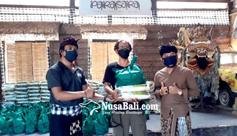 www.nusabali.com-paket-sembako-untuk-seniman-lingsir-dan-pekerja-kreatif-terdampak-covid-19